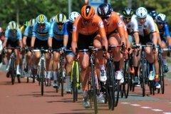 The Dutch lead the peloton