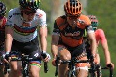 Anna van der Breggen & Annika Langvad