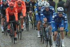 CCC & Deceucninck-Quickstep at the head of the peloton