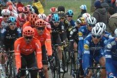 The peloton on Haaghoek