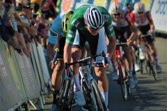 Mathieu van der Poel sprinting