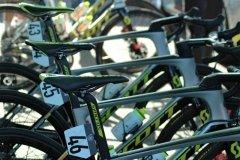 Mitchelton-Scott's bikes